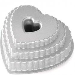 Noridc Ware TIERED HEART Forma do Ciasta - Serce