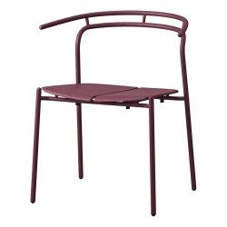 Aytm NOVO Krzesło Stalowe - Bordowe