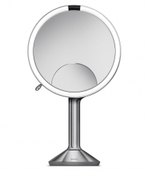 Simplehuman TRIO Lustro Sensorowe Bezprzewodowe 20 cm