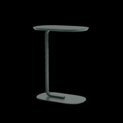 Muuto RELATE Stolik Pomocniczy - Boczny 73,5 cm Ciemnozielony