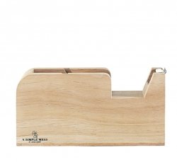 A Simple Mess SKOV Drewniany Podajnik do Taśmy Klejącej