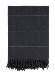 Sodahl MINIMAL Bawełniany Pled - Koc 130x170 cm Ciemnoszary