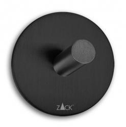 Zack DUPLO BLACK Okrągły Wieszak na Ręczniki Samoprzylepny 5,5 cm Czarny