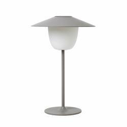 Blomus ANI Bezprzewodowa Lampa LED 2w1 Stołowa/Wisząca - Satellite (Odcień Szary)