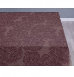 Sodahl MODERN ROSE Obrus na Stół 140x270 cm Bordowy Bery/Wine