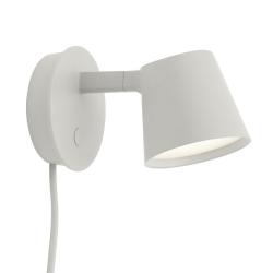 Muuto TIP Lampa Ścienna - Kinkiet - Szary