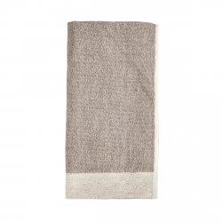 ZONE Denmark INU SPA Ręcznik Bawełniano-Lniany 50x100 cm Naturalny