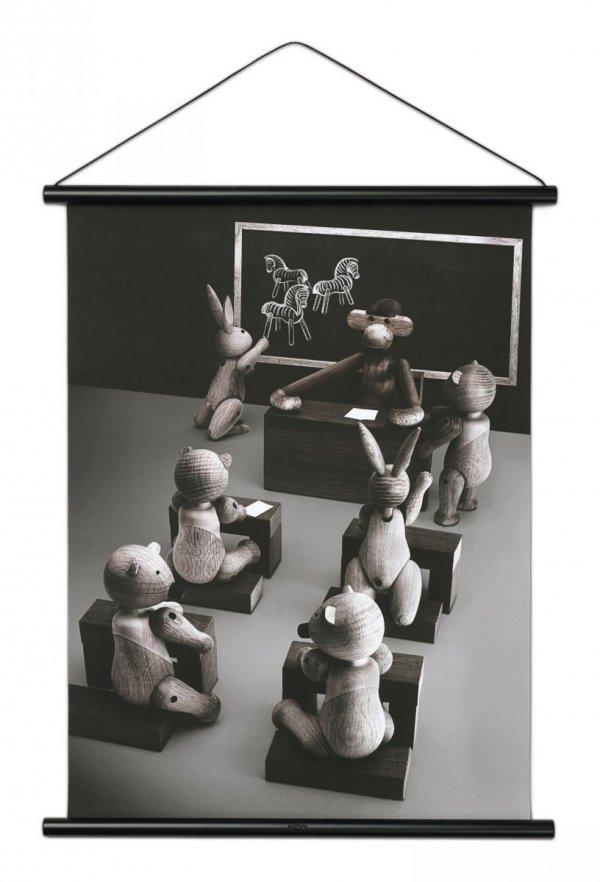 Kay Bojesen GALLERI Plakat 40x56 cm Małpka w Szkole