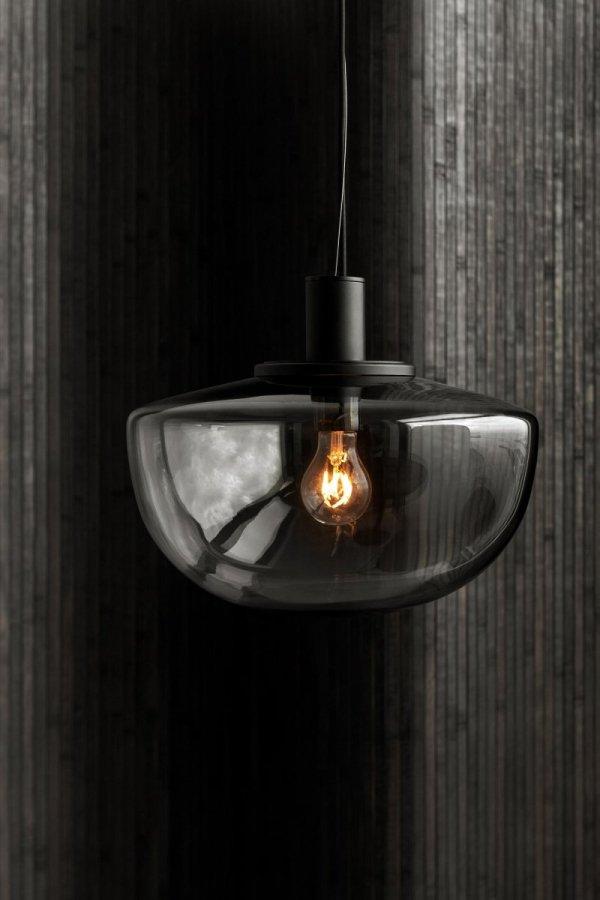 Menu BANK Lampa Wisząca - Klosz Szary