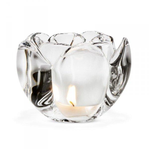 Holmegaard LOTUS Świecznik Tealight 7 cm