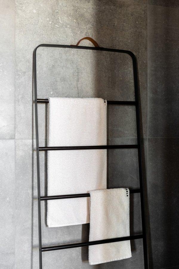 Menu BATH Drabinka Łazienkowa - Wieszak na Ręczniki - Czarny