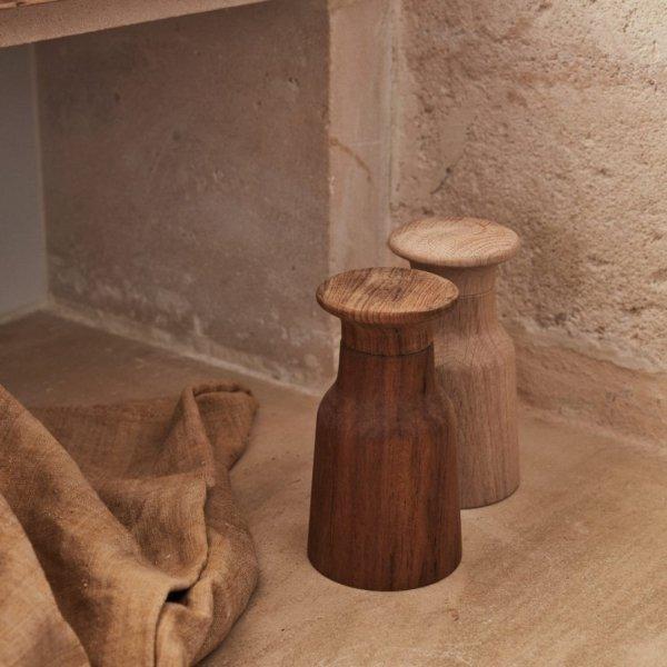 Skagerak HAMMER Drewniany Młynek do Soli lub Pieprzu - Dębowy