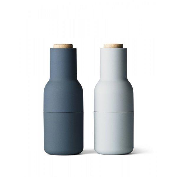 Menu NORM Bottle Młynek do Soli i Pieprzu - Niebieski