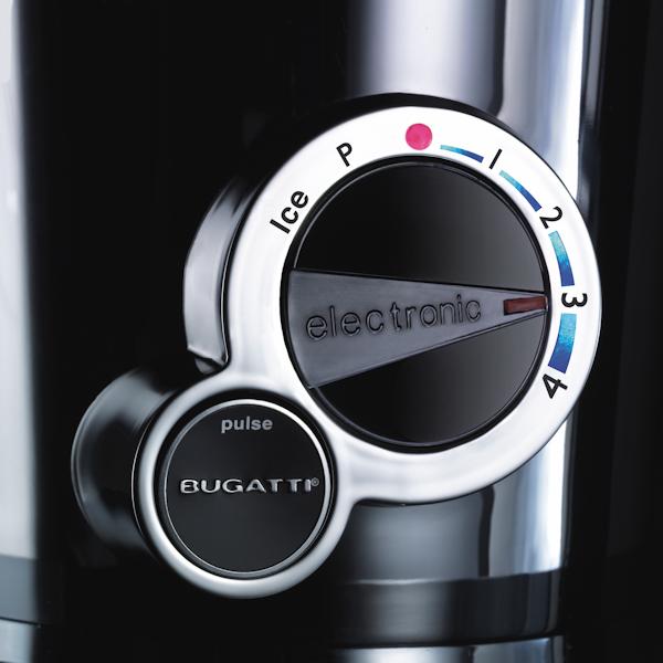 Casa Bugatti VELA INDIVIDUAL Blender Elektryczny - Swarovski - Czarny