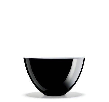 Holmegaard CCOCOON Misa Dekoracyjna 25 cm - Czarna