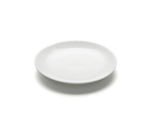 White Basics - Talerz Okrągły Płaski 15 cm