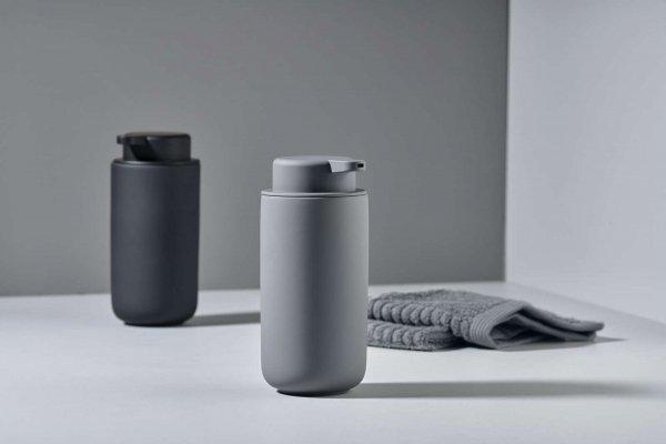ZONE Denmark UME Dozownik do Mydła 450 ml - Jasnoszary Soft Grey