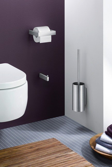Zack LINEA Uchwyt na Papier Toaletowy - Stal Matowa