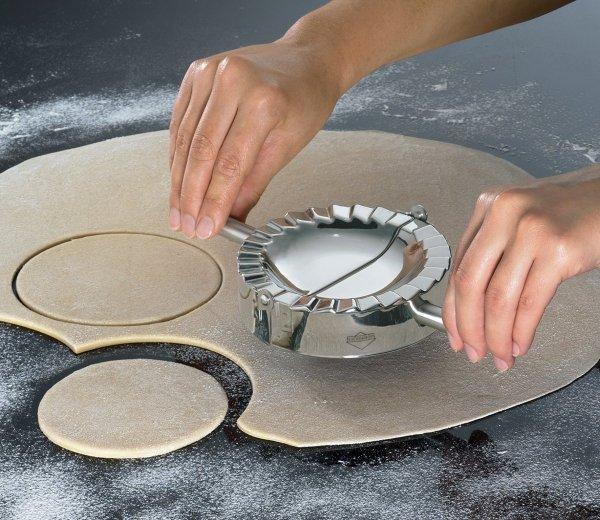 Küchenprofi Wykrawacz Zaciskacz Forma do Pierogów 12 cm