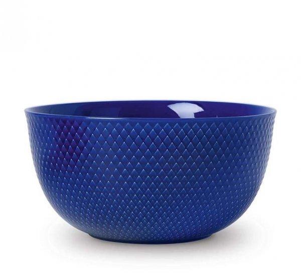 Lyngby Porcelain RHOMBE COLOR Miska 22 cm Granatowa