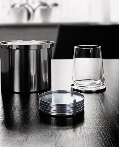 STELTON AJ Cylinda Line Arne Jacobsen - Podkładki Podstawki pod Szklanki