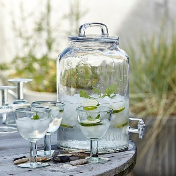 House Doctor ICE COLD Słój z Kranikiem do Lemoniady 8,5 l