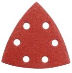 Papier ścierny trójkąt na rzep P150 Delta