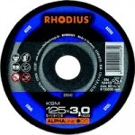 Tarcza do metalu 125x3,0 RHODIUS