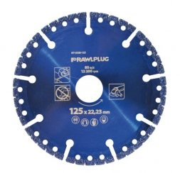 Tarcza diamentowa segmentowa 125 mm RAWLPLUG Multi