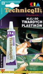 KLEJ DO TWARDYCH PLASTIKÓW 20ml TECHNICQLL