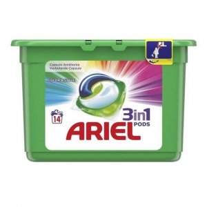 Ariel 3in1 Color kapsułki do prania 14 szt.