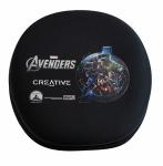 Creative Avengers Marvel etui na słuchawki na zamek