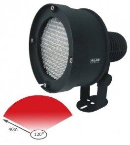 LIR-CS88, oświetlacz podczerwieni, zasięg 40 m, kąt 120°