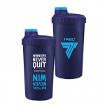 Trec Shaker 0,7 l NAVY-BLUE - WINNERS NEVER QUIT