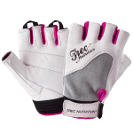 Trec WOMEN'S FITNESS GLOVES - WHITE-GRAY
