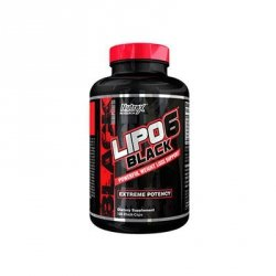 Nutrex Lipo 6 Black Series 120 caps