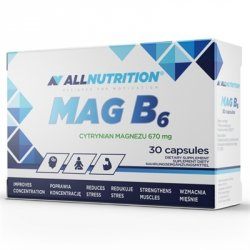 All Nutrition MAG B6 30 caps