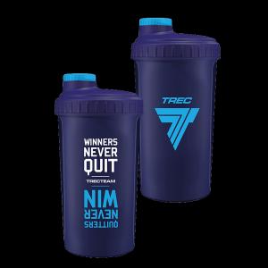 Trec Shaker 0,7 l NAVY-BLUE - WINNERS NEVER QUIT