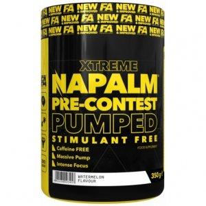 FA Napalm Pre-contest Pumped Stimulant Free 350g