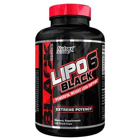 Nutrex Lipo 6 Black 120 caps (USA)