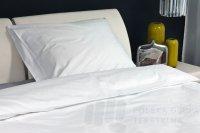 SUPEREXPRESS: Poszwa hotelowa z płótna, gładka, 180g/m2