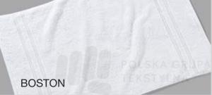 Ręcznik frote, hotelowy, z bordiurą, 500 g/m2