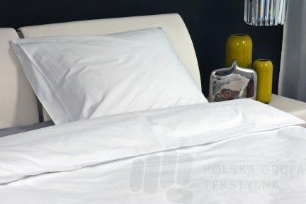 Poszewka hotelowa SMART z płótna, gładka, 150g/m2, 52% poliester, 48% bawełna