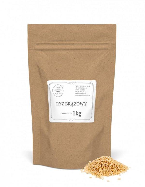 Ryż brązowy - 1kg