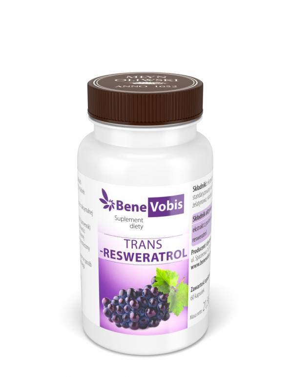 Trans Resweratrol - kapsułki