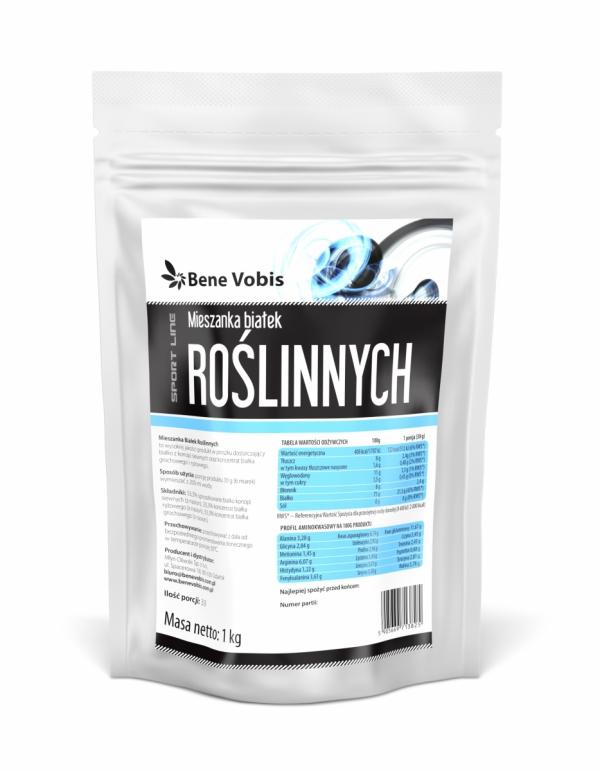 Mieszanka Białek Roślinnych - proszek - 1kg