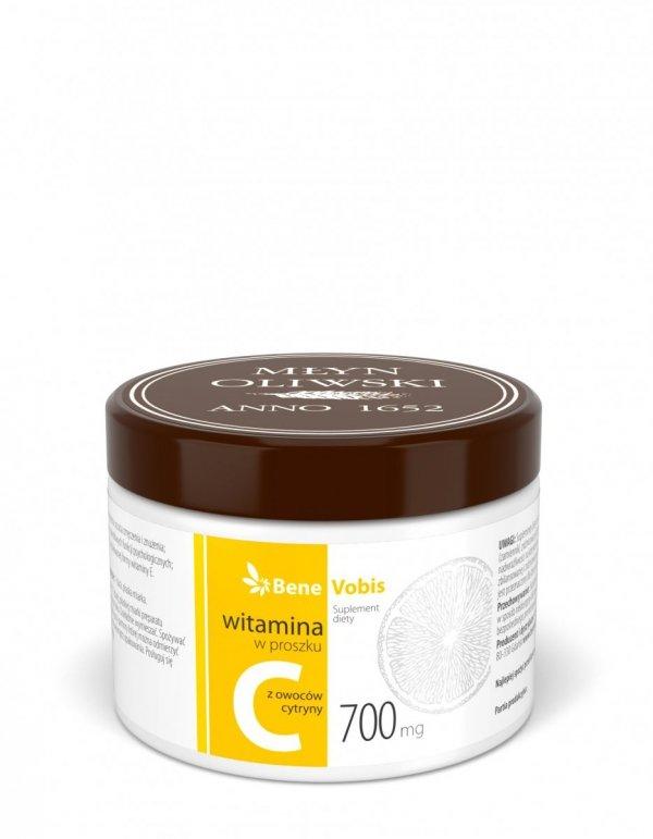 Witamina C z owoców cytryny - proszek - 250g