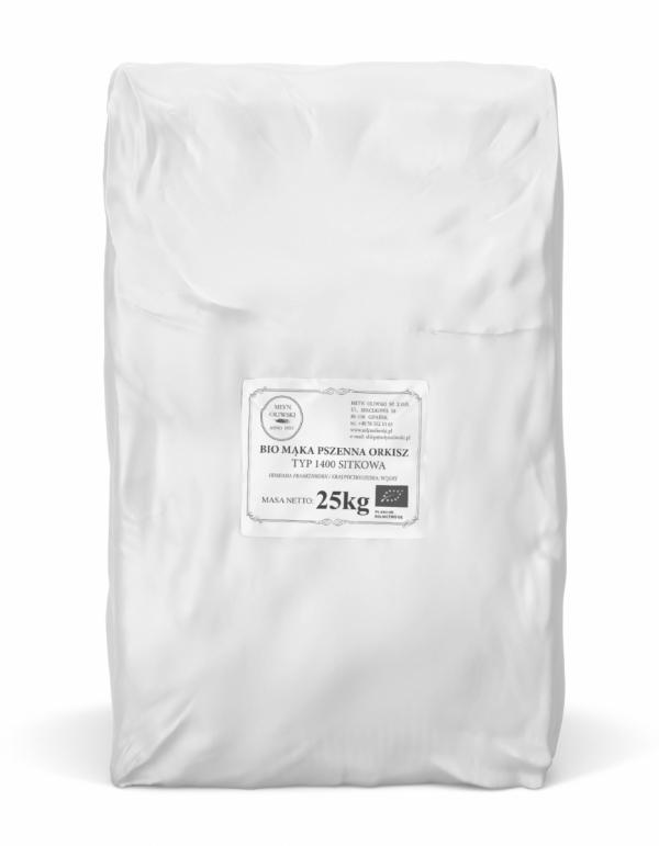 Mąka pszenna orkiszowa typ 1400 (sitkowa) - 25kg