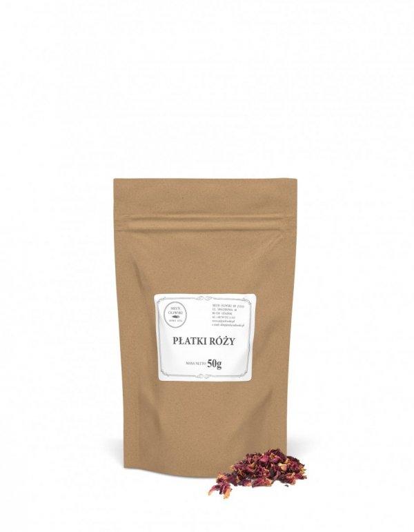 Herbata płatki róży - 50g
