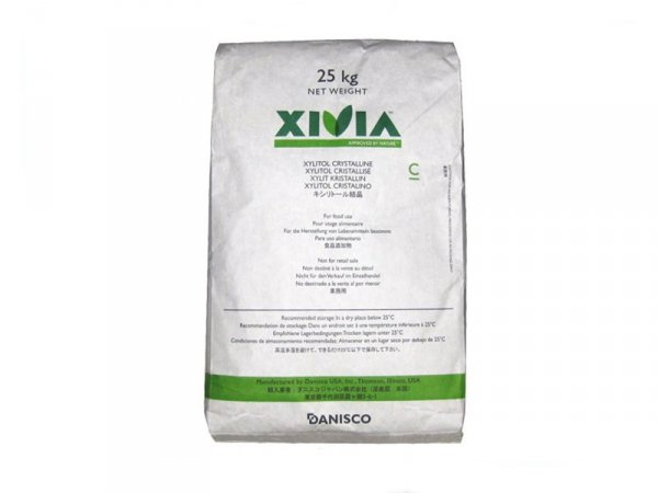Ksylitol (xylitol) - Cukier brzozowy (prod. Danisco Sweeteners Finlandia) - 25kg